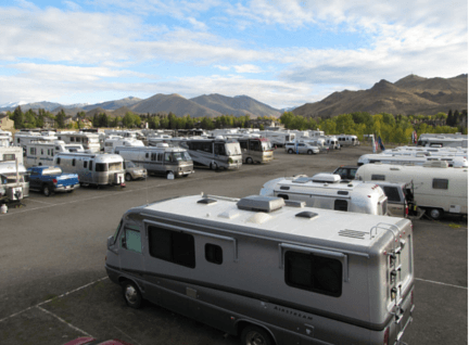 RV Parking Sun Valley, Idaho