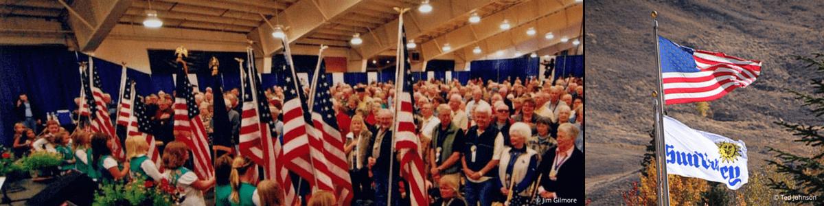 Sun Valley Flag Salute
