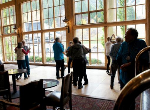 River Run Lodge Dance Floor - Sun Valley, ID