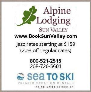 Alpine Lodging Sun Valley, Idaho