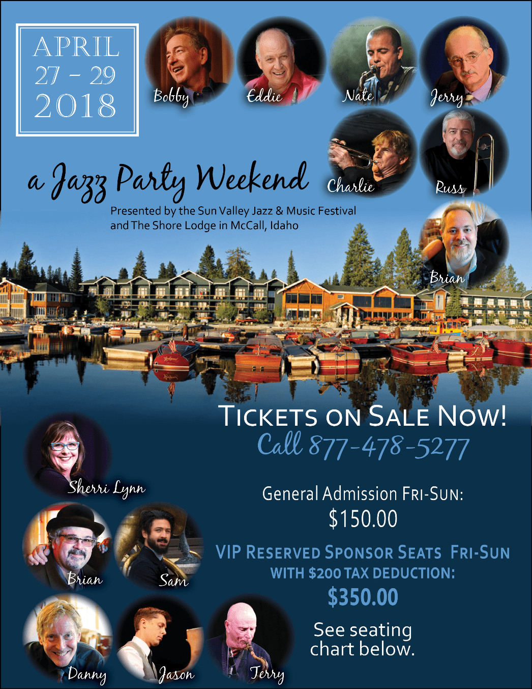 Jazz Party Weekend McCall, Idaho
