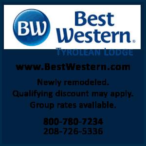Best Western Tyrolean Lodge 43.6731376,-114.36508379999998
