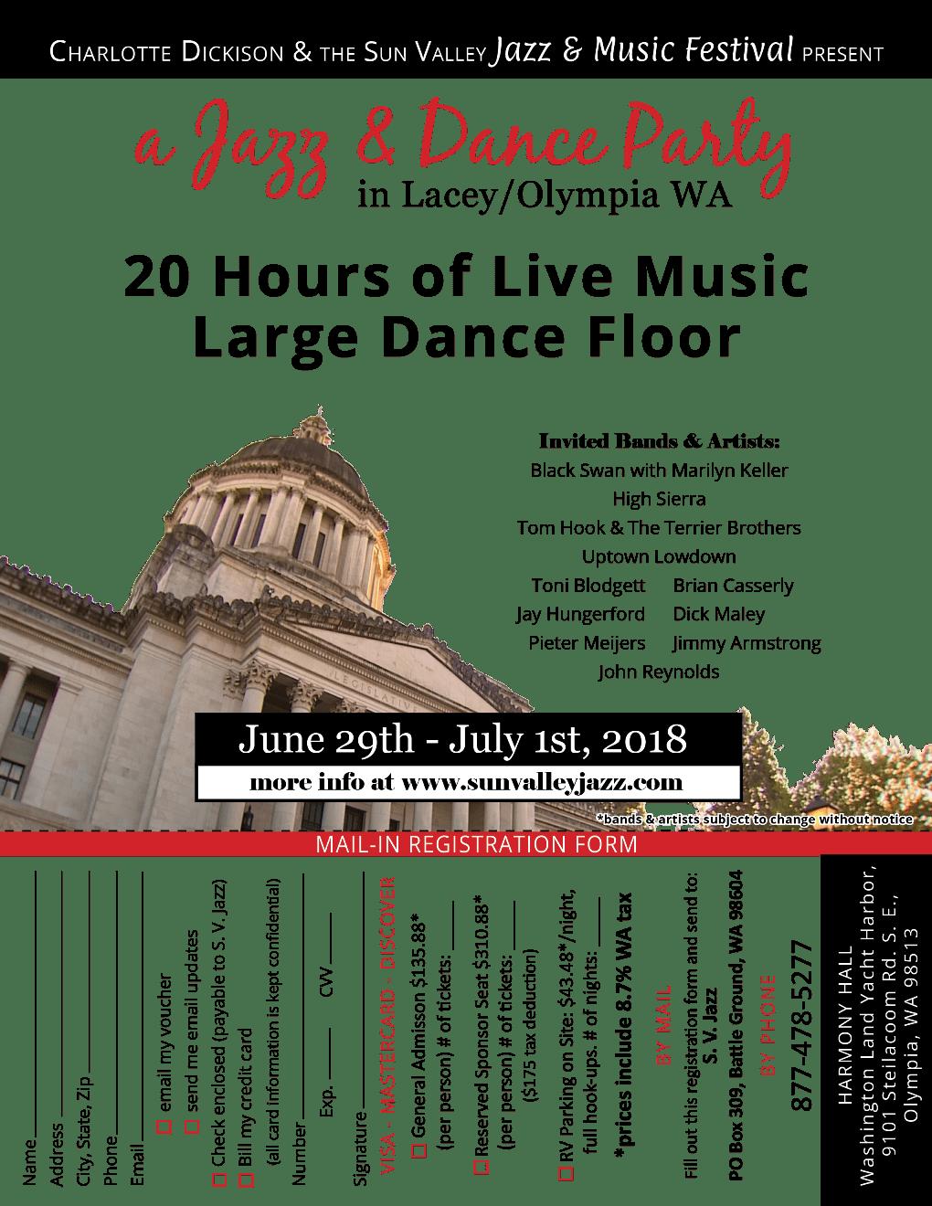 A Jazz & Dance Party Olympia / Lacey Washington