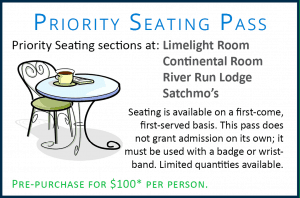 Priority Seating Sun Valley Jazz & Music Festival