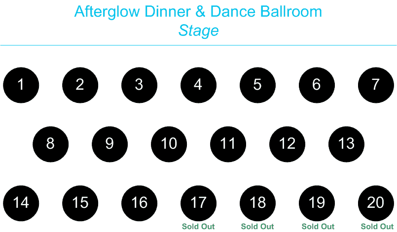 Afterglow Dinner and Dance