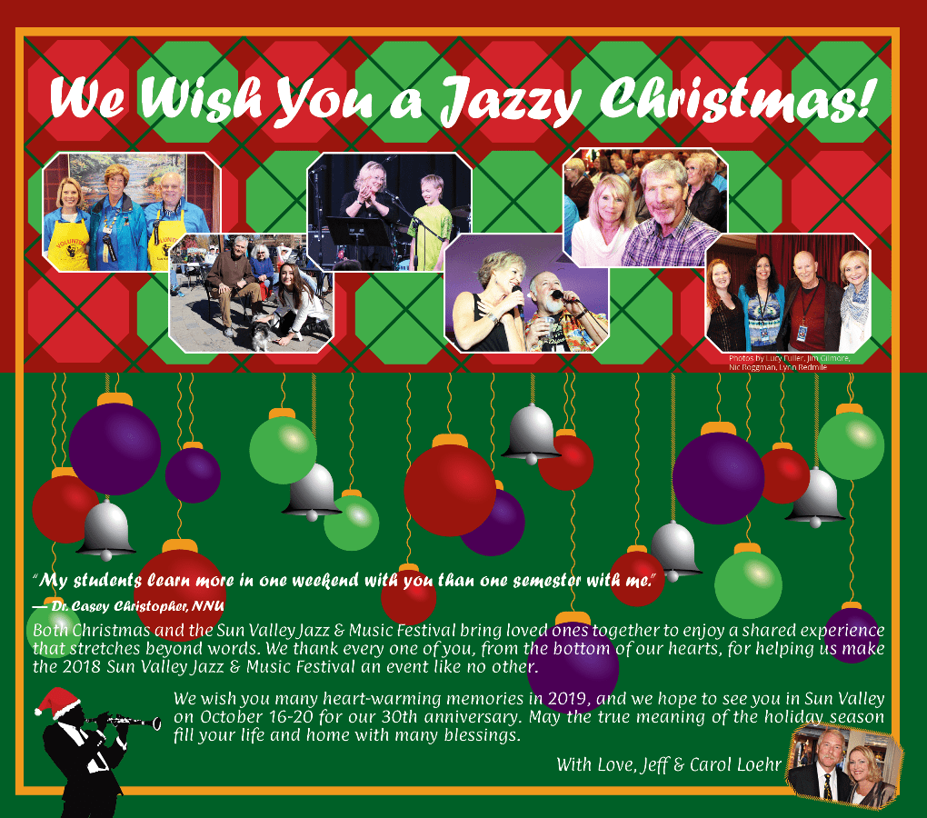 We Wish You a Jazzy Christmas!