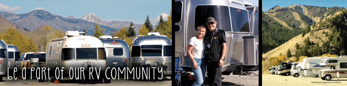 Be a part of our RV community.