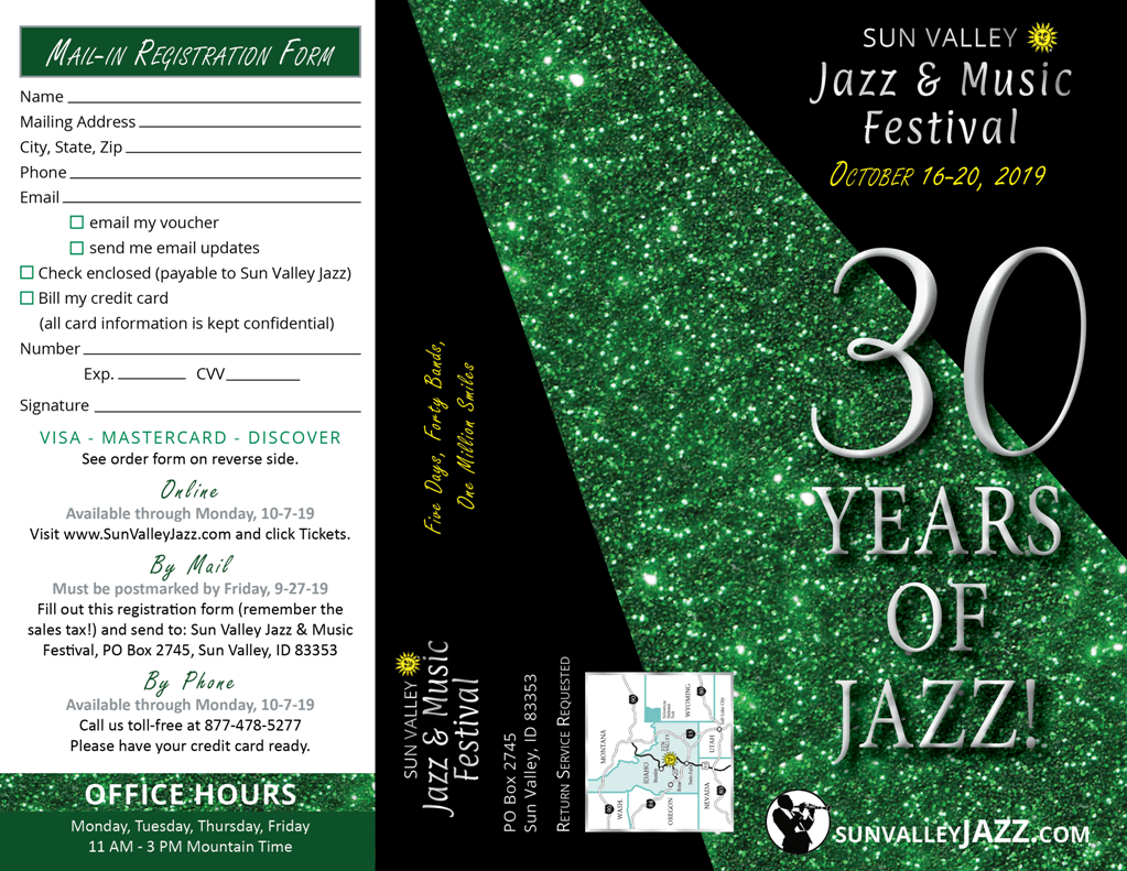 2019 Brochure Sun Valley Jazz & Music Festival