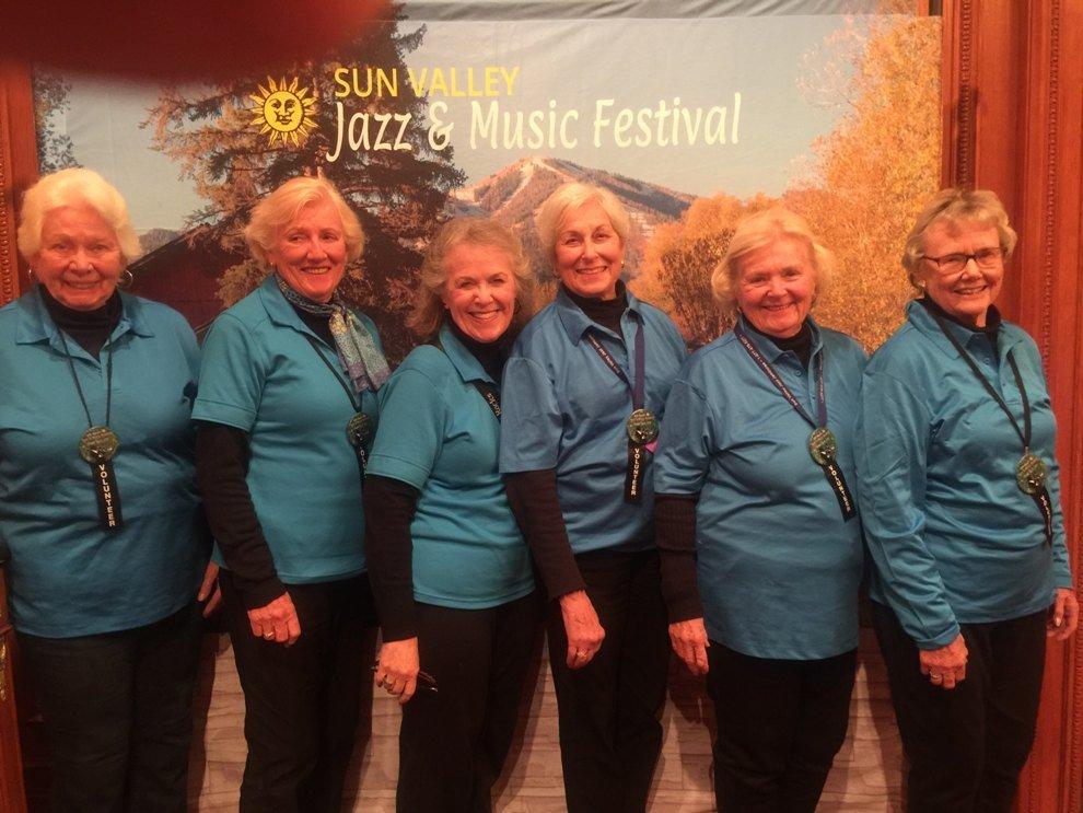 Sun Valley Jazz Volunteers Portland