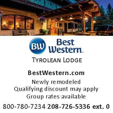 Best Western Tyrolean Lodge Idaho